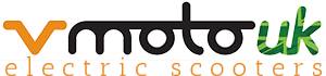 Vmoto UK Electric Scooters and Mopeds Logo